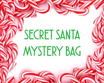 Holiday Mystery Grab Bag Accessories Surprise Gift Box Christmas Gifts Stocking Stuffers