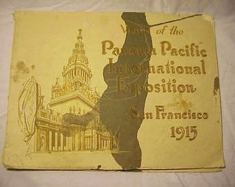 1915 View of the Panama Pacific International Exposition San Francisco, Cal., Worlds Fair Souvenir Book