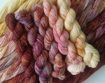 Quintet gradient yarn set - Tinto - Choose your base
