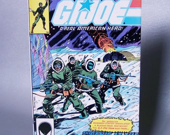 Vintage 1986 GI Joe Number 2 Very Good Condition Second Printing