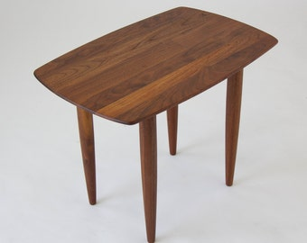 Prelude Solid Walnut Side Table