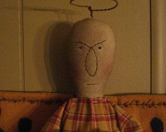 Primitive Handmade Angel Doll