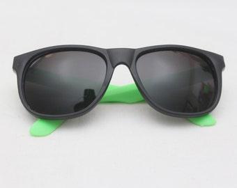 "90's Vintage ""LIMELIGHT"" Colorblock Wayfarer Sunglasses"