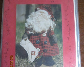 Simly Santa Stuffed Doll Pattern