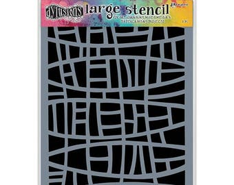 Ranger - Dyan Reaveley - Dylusions - Stencils - Stained Glass - Large