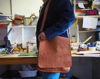 Leather Crossbody Bag,Leather Shoulder BagLeather Satchel,Brown Leather Satchel,Leather Crossbody Purse,Leather ipad Bag,Leather Tablet Bag