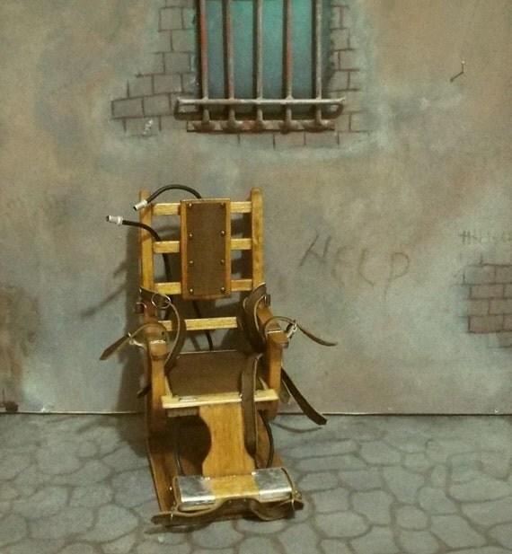 Miniature de collection fabriqu s la main chaise lectrique - Chaise electrique en france ...