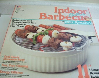 Indoor Electric Barbecue Grill by Grill America