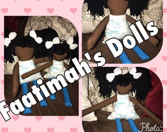 Big sister and little sister cloth dolls! (SALE)