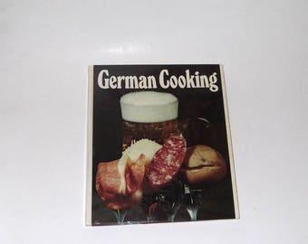 CLEARANCE German Cooking Cookbook Hardcover Vintage