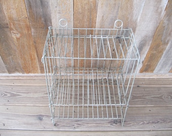 Display Fixture-Industrial Metal Rack-General Store-Garage Decor-Industrial Man Cave Decor