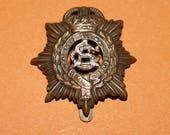 Collectible Original WWI British Royal Army service Corps Cap Badge