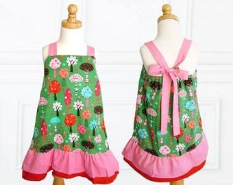 Girls dress pattern, Childrens sewing pattern PDF, Girls sewing pattern pdf,  Easy beginner pattern, toddler sewing pattern, ROBIN