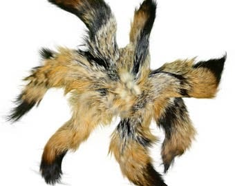 Glacier Wear Gray Fox Fur Tails & Keychains