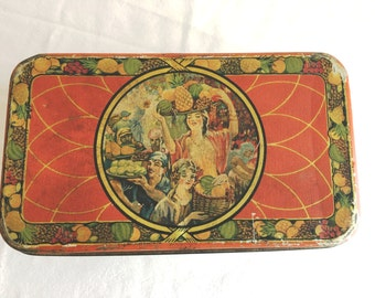 Sunshine Fruit Cake Tin  Loose Wiles Biscuit Company