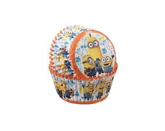 Minions Baking Cupcake Liners