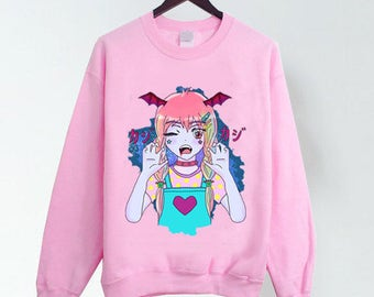 Kawaii Vampire Pink T-shirt/Sweater!