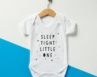 Sleep Tight Little One Babygrow