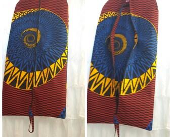 Ankara Garment Bag-Custom Made-Garment Bag-Travel Garment Bag-Ankara Travel Bag-Fabric Garment Bag-African Fabric Garment Bag-Ethnic Bag
