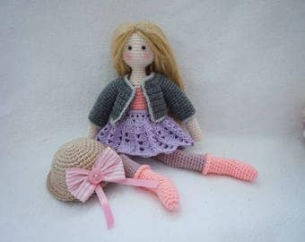 Doll crochet pattern / Tilda doll crochet