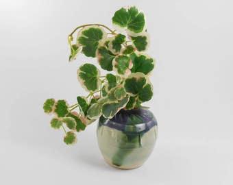 Bud vase - small pottery vase - small flower vase - weed vase - ceramic vase V160