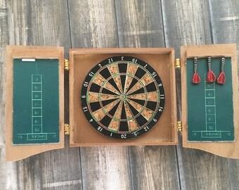 Miniature dart board