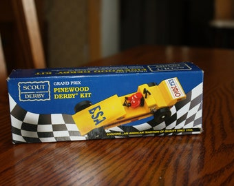 Boy Scout Pinewood Derby Kit- Grand Prix made in USA