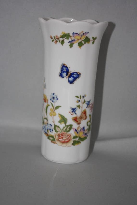 Aynsley Cottage Garden Fine Bone China Vase Made
