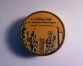 Something old gifts rare L'ETOILE D'OR Art Deco compacts