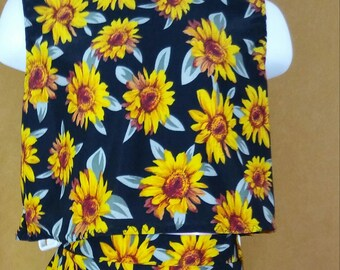 3T 2 Piece sunflower top and skirt