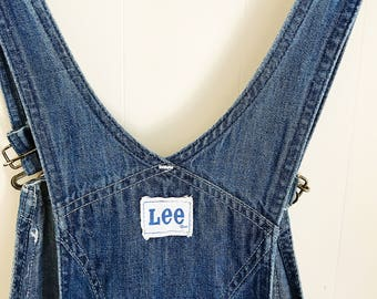 vintage 60s LEE denim overalls