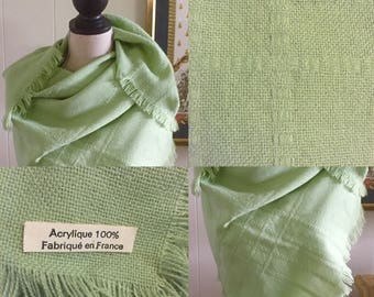 Vintage French Scarf/Wrap ... Free Shipping ... 10% Off Coupon SAVE10