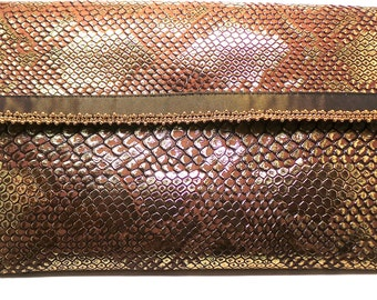 Pocket door sheet bronze leather
