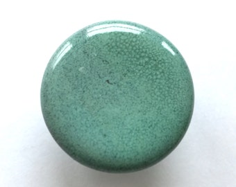 One 1.5  inchTurquoise Cabinet Knob