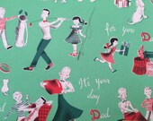 Vintage Gift Wrapping Paper - Father's Day by Dennison - For Dad's Hard Work - For You Father's Day - 1 Unused Full Sheet Gift Wrap for Him