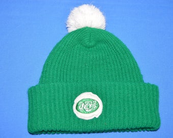 70s New York Jets Bobble Winter Hat