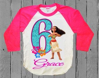 Moana Birthday Shirt