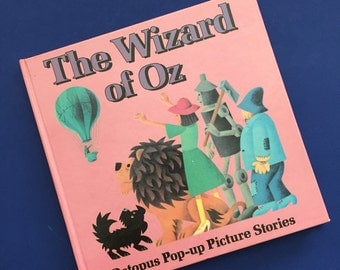 1980 The Wizard of Oz Pop-Up Book- Octopus Pop-Up Picture Stories