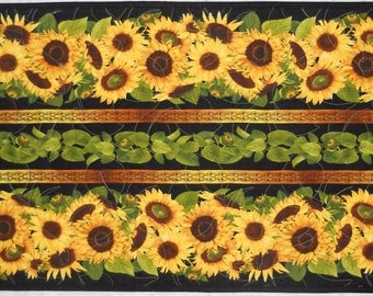 Finished Table Runner - Sunflowers