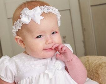 Ainsley  Baptism Dress,  Christening Dress ,Blessing Dress for Baby Girls
