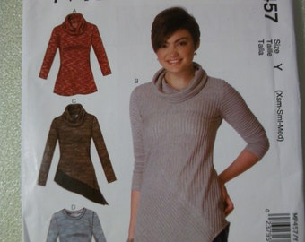 McCall MP457 Misses Size Y XS-S-M_ Tops