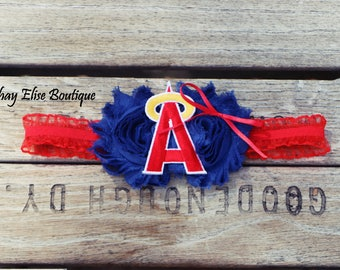 Los Angeles Anaheim Angels Headband