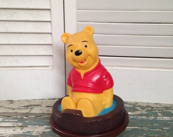 Adorable Winnie the Pooh Roly-Poly Walt Disney Productions 1976 Gabriel Ind Inc