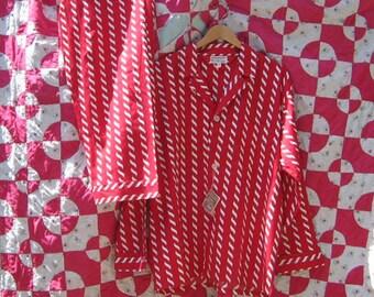 vintage mens cotton pajamas