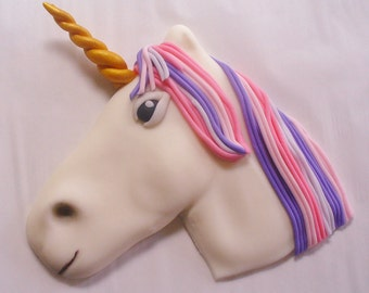 UNICORN Fondant Cake Topper Decoration