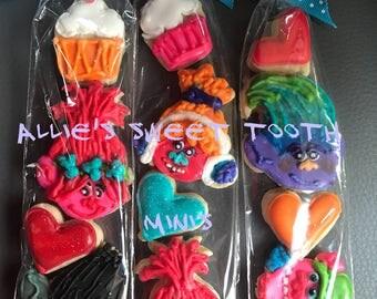 Trolls Cookies (minis)