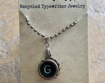 Vintage Typewriter Key - G
