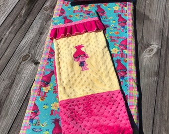 Trolls Personalized Nap Mat Cover
