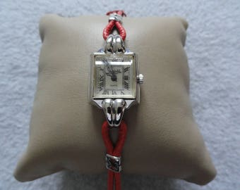 Sheffield Quartz Ladies Watch with a Red Band
