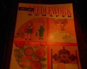 1970 McCall's Needlework and Crafts Magazine